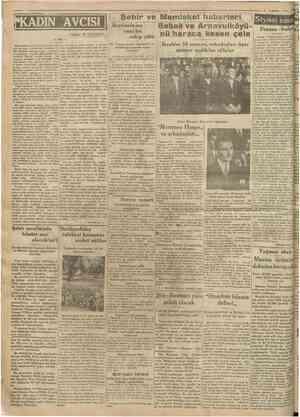 DIN AVCISI lazan: M. TUKHAIS Fransa İtalya ihtilâfı yeni bir safhaya girmiştir. Şimdi tarafeyn zimamdara 44 nı gazetelere...