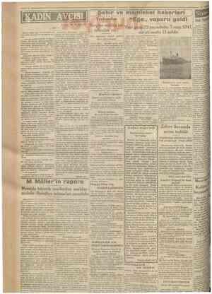 Cumhurîyet 16 Ağustos 1930 IN AVO» Yazan: M. TLRHAN 82 : Aleksandra, munakaşaya başhyalı thtiyar adam, genç bir hareketle diz