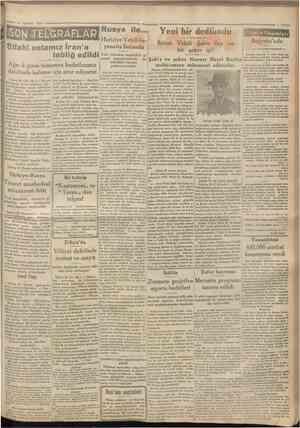 14 Ağustos 1930 SGN Ağn cLğınm tamamen hudutlanmız dahilinde kalması için ısrar ediyoruz Rusya ile... Hariciye Vekili...