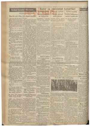 Serbest insanlar ülkesinde MUHARRİRİ AĞAOĞLU AHMET 'C Cumhuriyet 27 Ağustos 1930 Sehir ve memiekef haberleri Borsada vaziyet