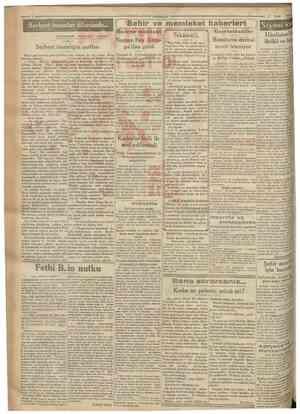 Cumkariyet 9 Eylul 1930 Serbest insanlar ülkesinde. MUHARR1Rİ AĞAOĞLU AHMET Sehir ve memleket haberlerS ) Siyasî icmal...
