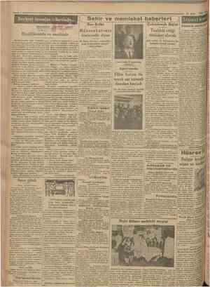 Cumhurîyei 19 Eylul 1930 Serbest insanlar ülkesinde... MUHARRİRİ AGAOGLU Sehir ve memleket haberleri Rus Sefiri Siyasî icmal