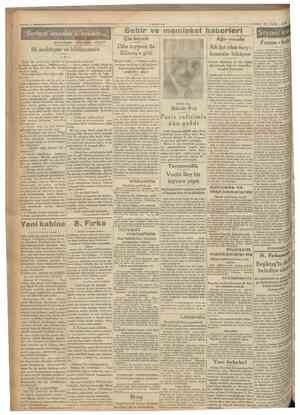 "i^umnurıyet '"" 2Ö Eylul 1930 Serbest insanlar ülkesinde, MUHARRİRI AGAOGLU \ V Sehir ve memleket haberleri Çin heyeti AHMET"