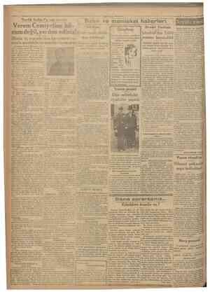Cumhurîyet şrinievvel 1930 Tevf ik Salim Pş. nın cevabı Henüz üç yaşında olan bu cemiyet ve den yıkılmış! remle mücadelenin