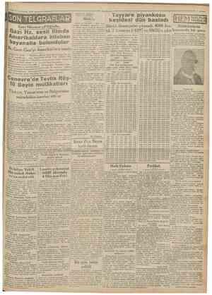 12 Teşvinîsflnî 193ü Cumhuriyet Ankara 11 (Aka'dan) Blok hakkındaki intibalarımı yazıyorum: Tekzip edilişi bunun evveliyatı