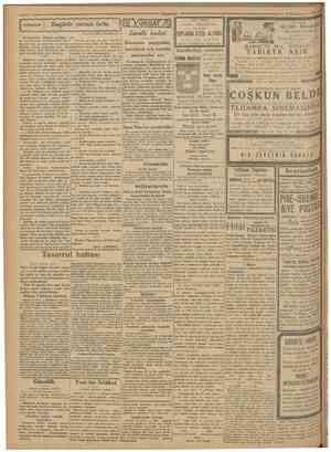 15KânuoueweI 1930 Bugünle yarının farkı Tasarruf haftası münasebetileBAŞLANGIÇ: Bilmem münakkit tu. !er bu hikâyeme ne...