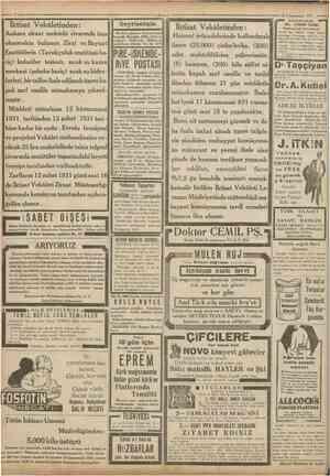 12 Kânunusani 1931 Iktisat Vekâletinden: Ankara ziraat mektebi civarmda insa olunmakta bulunan Ziraî veBaytarî Enstitülerin