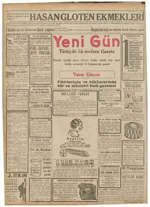Cumharivet 24Kânunusani 1931 Gayrimübadiller takdiri kıymet komisyonundan: Kubilâyın Anacıgı C...