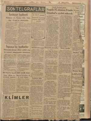 1931 —- 27 Mart ç pa ü, iin MZ ART 192ş wi i ——, 1AâiTi — Cumhuriyet ei e .. . . Ni b ; HARİÇ İÇİN Güzellik Kraliçesi...
