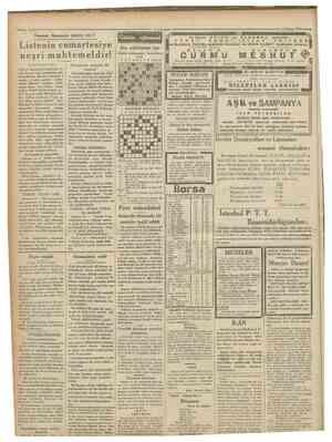 15 Nisan 1931 Namzet Kstesinde kimler v a r ? Listenin cumartesiye neşri muhtemeldir! (Birinci sahifeden mabit) meb'us...