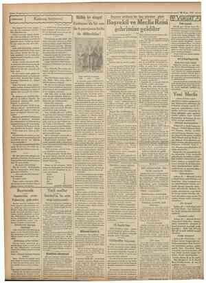 Cumhurtyet ^ 28 Nisan 1931 Kıskanç tayyareci Italyan hikâyesi Müthiş bir ciıtayet • »*m ı Bayram tatilinde bir kaç istirahat