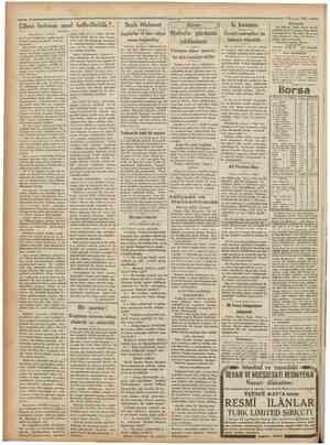*Camhuriyet • < 2 Haziran 1931 Cihan buhranı nasıl halledilebilir ?, [Başmakaieden vıabait] bati fakat hakikî bir salâh...