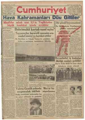 SEKiZiNCi SENE No. 2607 İnAREHANESt: Ifihnnaııııtumnr ljrv.MiL airM Telgraf: İstanbul Cumhurivet Fosta k u l u s u : N° 2 4 6