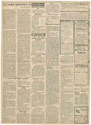 ?Gumhuriyei | AMER1KA •SULARINDA « 29 Ağustos 1931 ALMAN TAHTELBAHİRLERİ Nakili: ABlDİN DAVER Günün eğlencesi DünKü biimecenm