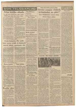 i Camliartyei 9 Eylul 1931 E H E l U I A I TAHTELBAHIRLERI Nakili: ABIDİN DAVER îhracat emtiamız Ambalajın Istanbul'da...