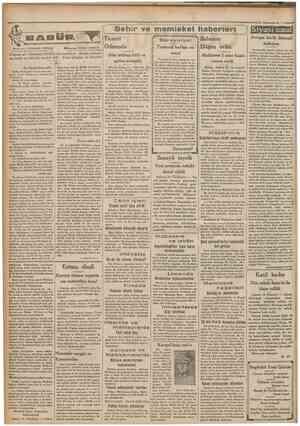 """Camhmriyet '15 Kanunuevvel Sehir ve memleket haberleri ) Siyasîicmal Maharriri: FERNAND GRENAR . . . , ,r Mutercimi: YUSUF"