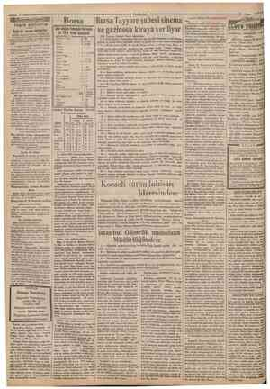 Borsa Sağırlar cevap veriyorlar B î cemiyeti ıtmumı kâtipüğınden: 13 nisan tarihli Son Posta gazetesinin 6 ıncı sahifesini