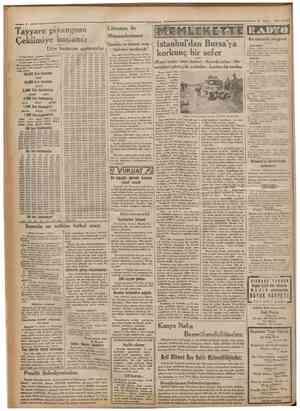 Cumhariyet 12 Mayıs 1932 re pryangosu ' Litvanya ile Münasebatımız Dostluk ve ticaret mua Dün kazanan numaralar 12 înci...
