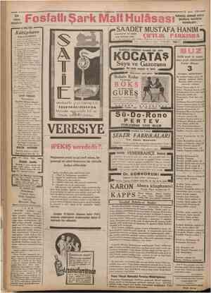 veren annelere sm Fosf atlı Şark Malt Hulâsası istanbul un en nezih aile mecmaı olan Çamhuriyet 27 Mayıs 1952 Kullanınız,...