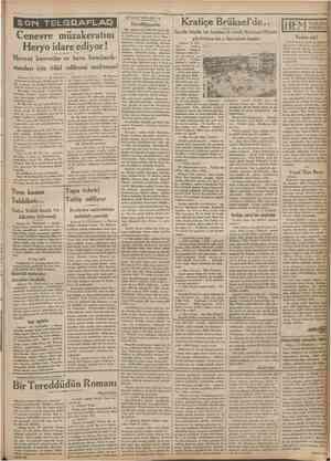 SON TELGRAFLAB SEYAHAT NOTLARl: 10 Darülfünunda Bir sabah saat dokuzda Sofya'da beden terbiyesi umumî müfettişi M. S....