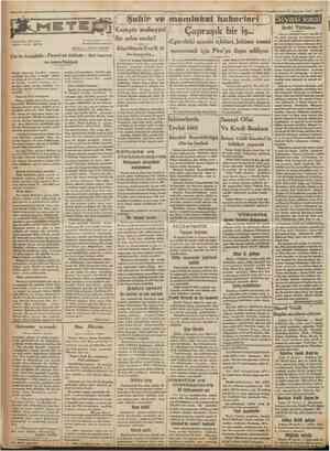 Cumhuriyet 15 Ağustos 1932 f Buj/üfc rür* . Hün İmpa ratorv (AT. t. 209174) rercüme, iktibas ve saire her türlü hakkı...