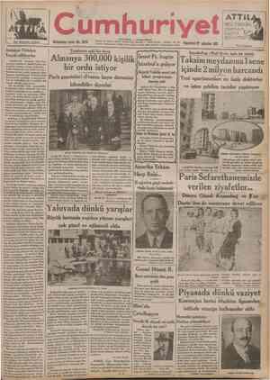 Her kitapçıda bulunur UOKUZUnCU n . umhuriye NO. 2979 İSTANBUL CAĞALOĞLU Telgraf ve mektup adresl: Cumhuriyet, Istanbul Posta