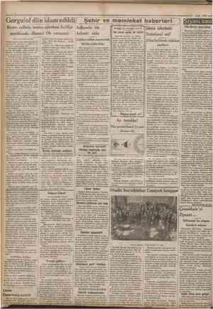 """""""CufflhtmyBt 15 Eylul 1932 Gorgulof dün idam ediîdi f Şehir ve memieket haberieri Başını cellâda tesîim ederken hafifçe..."""