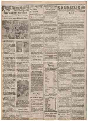 """20 Eylul"""" 1932* Cumhürıyet Bağbozumu yarışları İzmir'de yapılan son deniz müsabakaları çok muvaffakiyetli oldu Bir günde İki"""