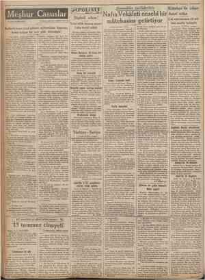 'Camhttriyet ' 19 Teşrinisani 1932; Şimendifer tarifelerimiz Yazan: BERNDORFF Türkçeye çevıren: ABİDİN DAVER 7 Naf ıa...