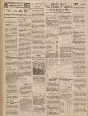 Cumftnrıycf 4 Agustos 1933 TEFRİKA: 63 Yeni TürkiyeAvushırya Aü NACİ İnhisarın Izmir teşkilâtı ticaret mukavelesi nı yapacak