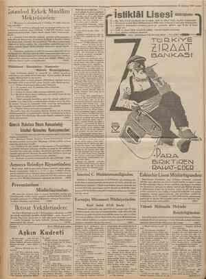 'CtrmhaAyti = 21 Ağustos 1933 îstanbul Erkek Muallim Mektebinden: 1 Mezuniyet ve sınıf imtihanları 1 eylulden 10 eylule kadar