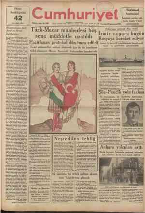 Hayat Ansiklopedisi nci cüzü çıktı 42 Onuncu sene: No. 3400 umhuriyet Telefon. Başmuhamr: 22366 Tahrir müdüru: 23238. Idare