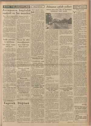 !?Kânunuewel 1933 Tarihî eserlerle dolu şirin bir kasaba: Tire Tire «Husu »î» Ege min takasmm ve mer. dere« havzası • nın...