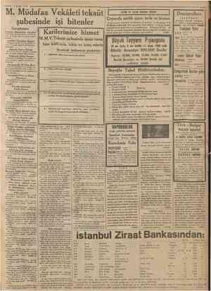 """Hayat Ansîklopedisi 53 üncü cüzü çıktı ıı umhuriyet «ce ISTANBUL CAĞALOĞLU n » • o M"""" tnOA ."""" NO. OOüO Telgraf ve mektup..."""