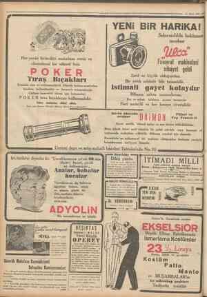 Hayat Ansîklopedisi uncu cuzu çıktı 53 umhuriyet OtiUnCU SBfiBlNO. 3 5 6 9 Telgraf ve mektup adresl: Cumhuriyet, Istanbul...