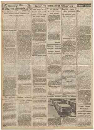 ıCumhuriyet !İ8TemmuzW34 Casuslar Arasında 82 Naküiı A. DAVER Şehir ve Memleket Haberleri ) Siyasî Fırka idare heyeti bugün