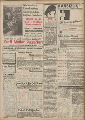 Mart 1935 Çumfmrivei Şık kundura Ucuzkundura Güzel kundura Sağlam kundura SUMER BANK Beşerlzefo belâ olan f areleri imha...
