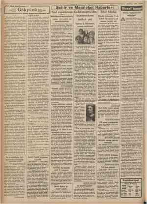 14 Nisan 1935 Edebi büyCkronıan : 61 Yeni vapurlarımız Kadın kongresi dün Yazan: Reşad Nuri Gfintekin = bununla geçinirdi.