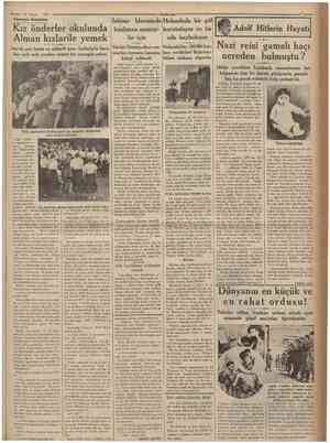 24 Mayı» 1935 Almanya intıbaları Kız önderler okulunda Alman kızlarile yemek İnhisar İdaresinde Holandada bir göl buulunan