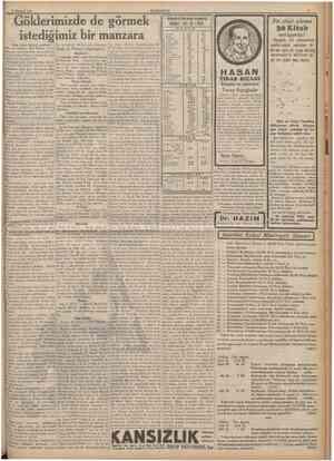 11 Haziran 1935 CUMHUBİYE1 Göklerimizde de görmek istediğimiz bir manzara (Baş tarafı birinci tahlfede) diploması almıştır.