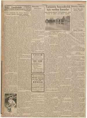 CUMHURİTET 30 Haziran 1935 Jürklerle Süngu Süngüye No. 231 A DAVER Çanakkalede ^Dikkatler İyinin korkusu Anadolu...