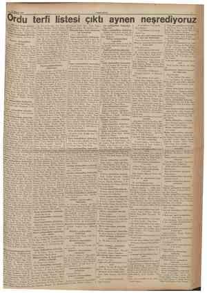 Afusfos 1935 (Baş taraft birinci sahifede) rat Tuggeneralliğe, albay A. Tevfik Tuggeneralliğe, albay M. Rasim Tug...