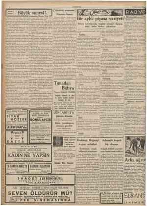 CUMHURİYET 20 İkinciteşrin 1935 Büyük annesi Mansur Necib şeceresile övünürdü. Üç beş cşina bir araya geldiler mi, o ne yapıp
