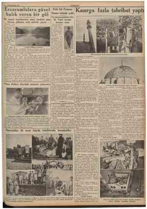 5 Birincikânun 1935 Erzurum (O Eski Fransız Bazel) Tortum ilkanlarından Gas çesi ilimJze 9 saa ton Vidal hakkında geçen...