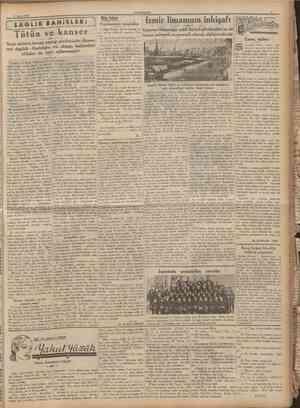 CUMHURÎYET 11 Mayıs 1936 Kan içen bir hayavn: Vampir Fenerbahçe Güneşi, Galatasaray da Beykozu yendi D ü n k ü müsabakalar ç