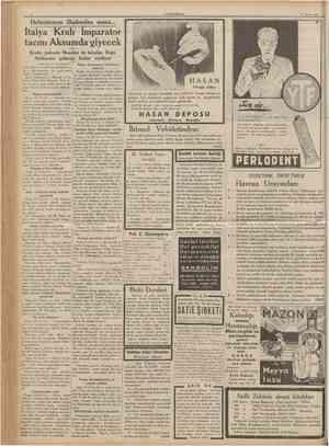 11 Mayıs 1936 CUMHURIYET R A D i U M Traş Bıçağı alıp ve satan büyük ve tüccarların nazarı dikkatine: RADİUM traş...