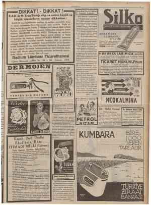 10 CUMHURÎYET II Mayıs 1938 1926 senesinde Amerikada Detroit şehrinde meşhur «Rollâtör» IU Norge Kompresörleri resmî bir...