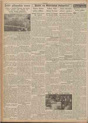 CUMHURİYET 27 Mayıs 193ft plânından sonra f Şehir ve Memleket Haberleri «Galata ve İstanbul yakasının fena yerleri, ancak...
