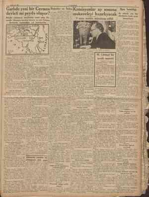 26 Haziran 1936 CUMHURİYET Garbde yeni bir Cermen Boğazlar devleti mi peyda oluyor? Belçika nüfusunun ekseriyetini teşkil...
