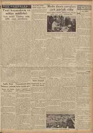 10 Ağustos 1936 .İYET SON TELEFON MABERLEC TELCRAF vc TELSÎZLE Bu da yalnız mıhına Dünkü tayyare oyunu! Dün stadyomu...